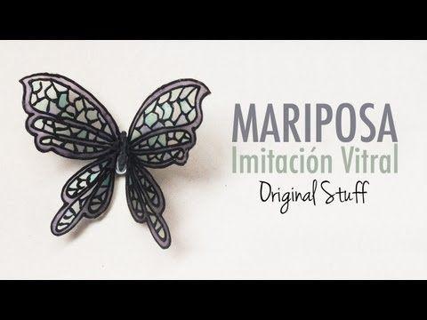 Mariposa [Imitación Vitral]