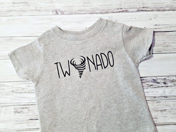 a7571aa6 2nd Birthday Shirt - Twonado Boys Second Birthday Party Top - Two Year Old T  Shirt for Boy Birthday