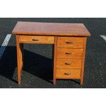 Tables D Occasion Vintage Design Scandinave Industriel Ancien Bureau Bois Bureau En Pin Bureau Ancien