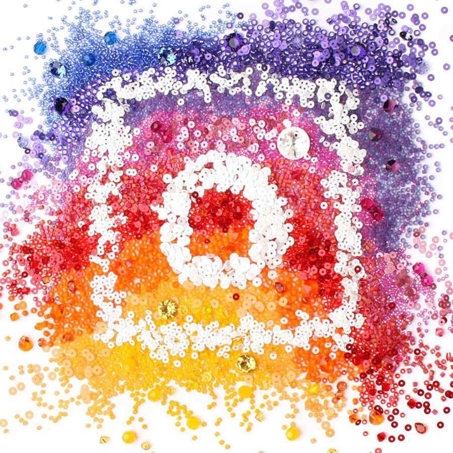 Interpretación de artistas del nuevo logo de instagram
