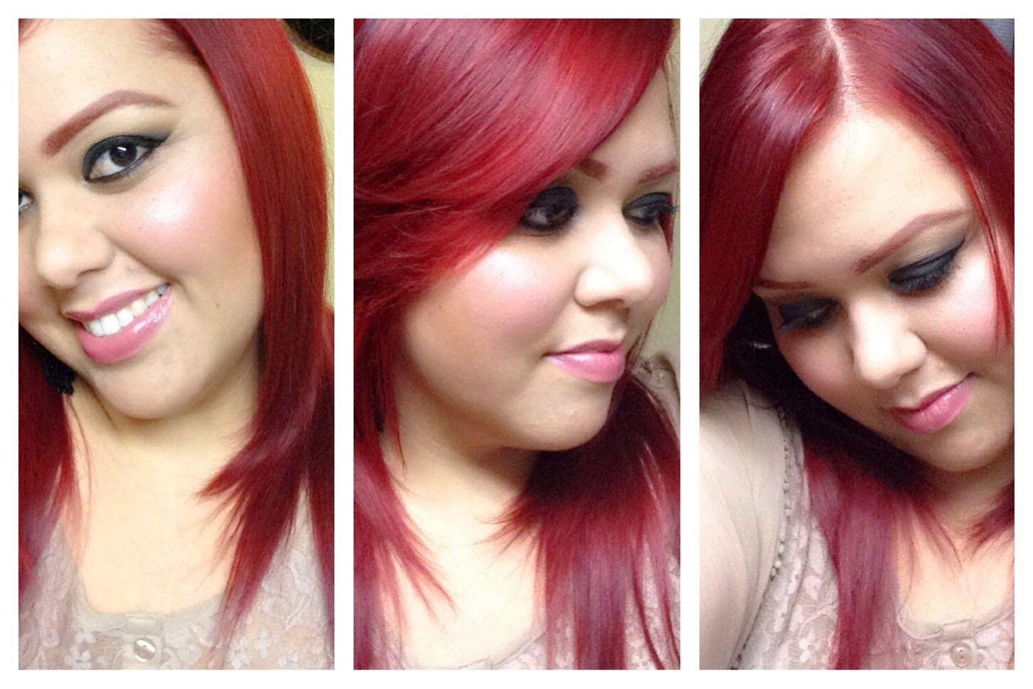 ❤️Cabello Rojo Sin Decolorar ❤️ (Lo q a mi me funcionó) Red Hair (Withou...