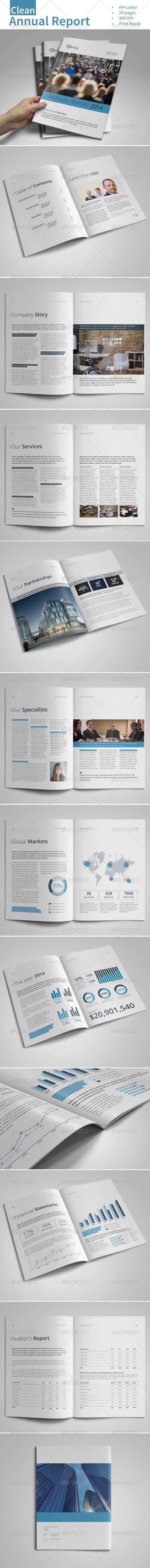Clean Annual Report Vol.1