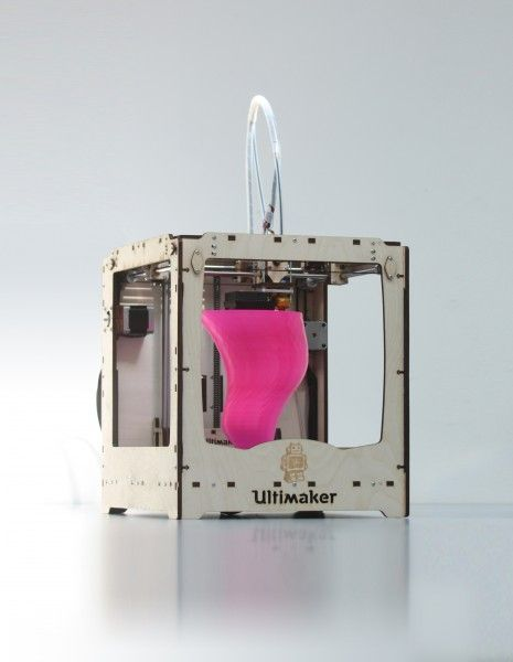 Ultimaker is the first affordable, fast, & decently hight resolution 3D printer for home/hobby use... I think I need one!