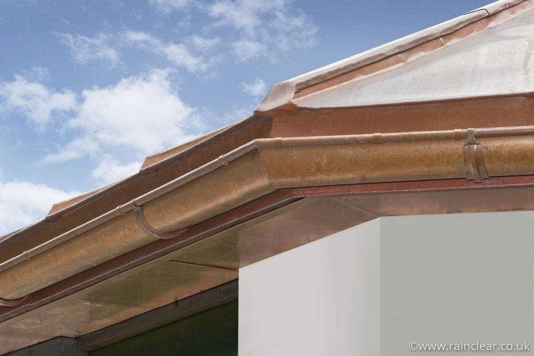 Gallery Rainclear Systems Information Area Extruded Aluminum Gallery Copper Gutters