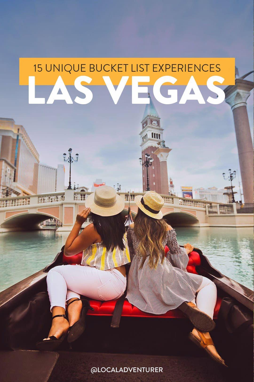 15 Unique Bucket List Experiences You Can Only Have in Las Vegas // Local Adventurer #bucketlist #lasve… in 2020   Las vegas. Bucket list ...