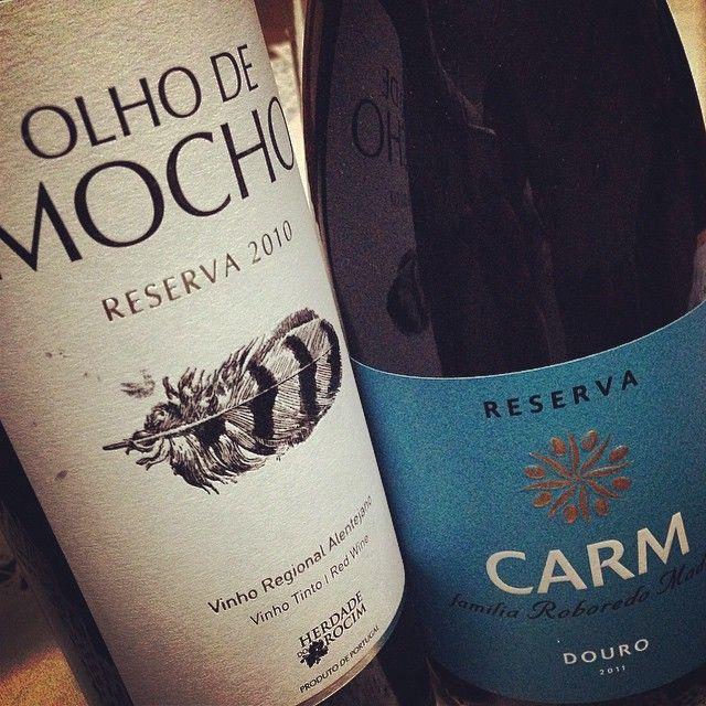 Douro e Alentejo juntos... #winelover #portuguesewines