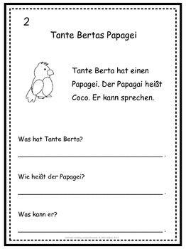 german reading comprehension 50 mini stories german. Black Bedroom Furniture Sets. Home Design Ideas
