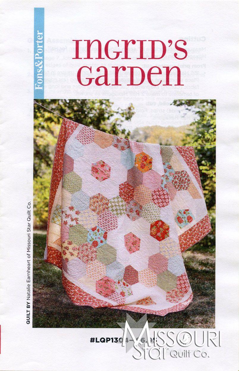 Ingrid S Garden Pattern From Missouri Star Quilt Co Done W