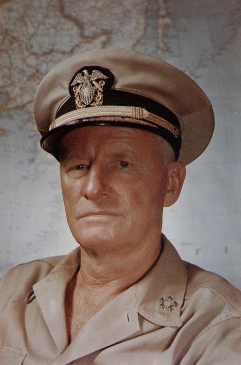FLEET ADMIRAL CHESTER W 8X10 PHOTO NIMITZ WORLD WAR II NAVY LEGEND YW024