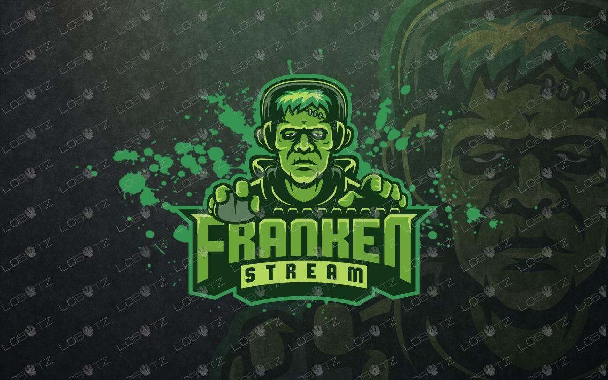 Frankenstein gamer mascot logo frankenstein gamer esports