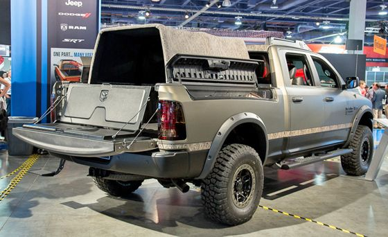 Sema Video Explore The 2015 Ram 2500 Outdoorsman Pickuptrucks