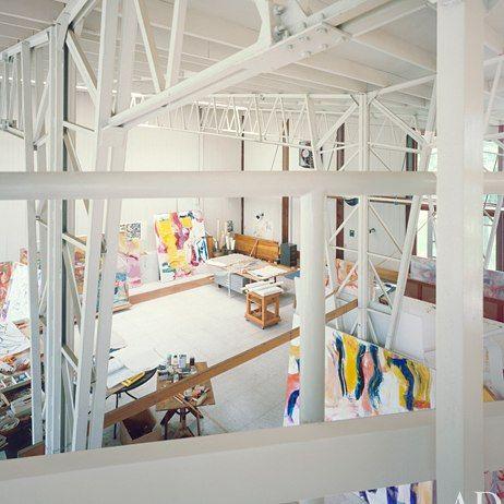 AD Visits: Willem de Kooning : Architectural Digest
