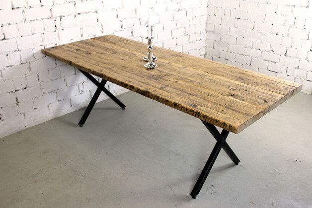 Tisch aus bauholz thex ein absolut hochwertig for Esstisch hochwertig