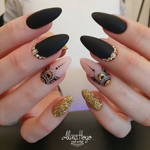 Pin On Nails Stoned Immaculate