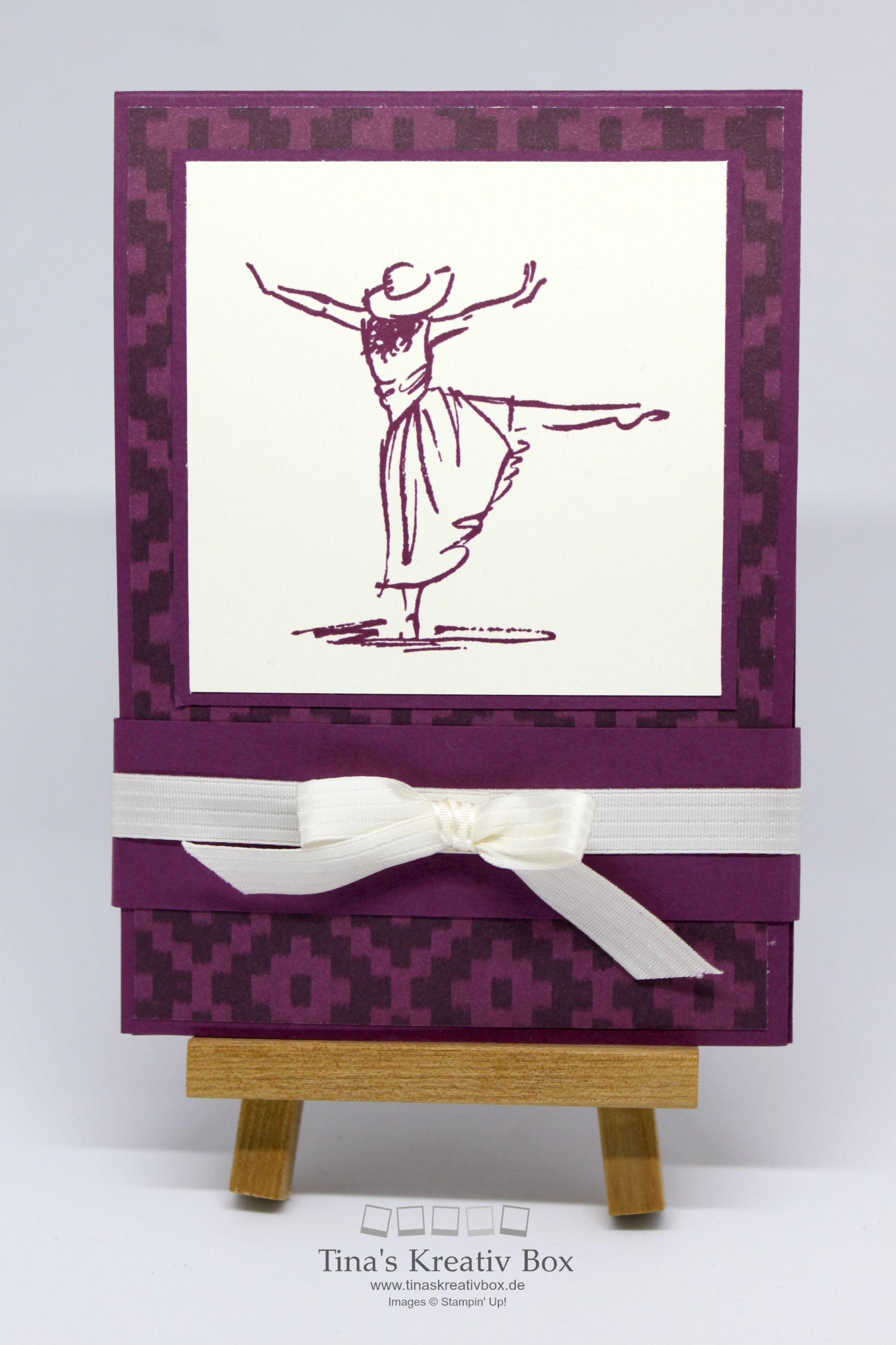 mit stil pop up karte mit produkten von stampin 39 up meine karten pinterest karten. Black Bedroom Furniture Sets. Home Design Ideas