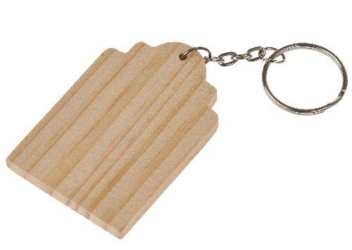 Kreatívne materiály / Papierové a drevené výrobky, servítky | Rôzne papierové a drevené výrobky | Drevená kľúčenka, etiketa