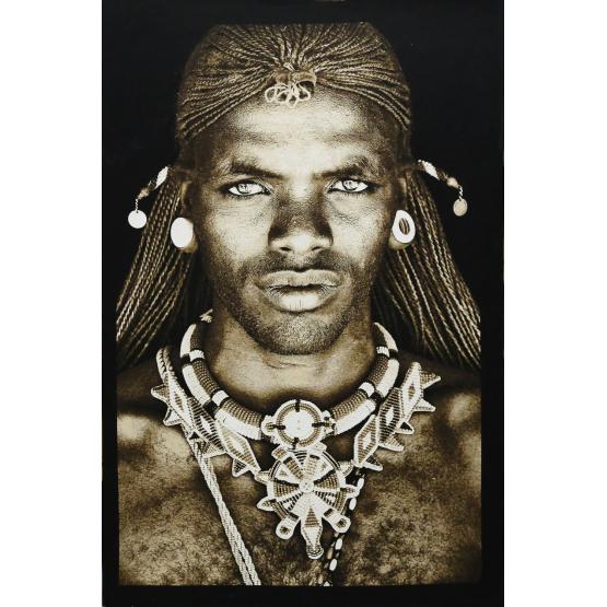 Fs Home Collection wandpaneel samburu warior kenya small   faces   pinterest   wall