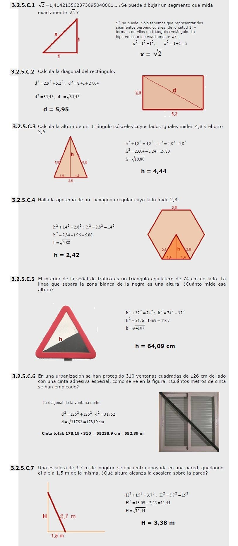 Tarea 3 2 Semejanza Teoremas De Tales Y De Pit Goras Juan  # Muebles Es Hiato O Diptongo