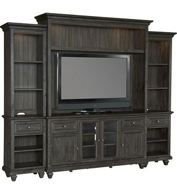 Havertys - Beckley Entertainment Wall | Family Room | Pinterest ...