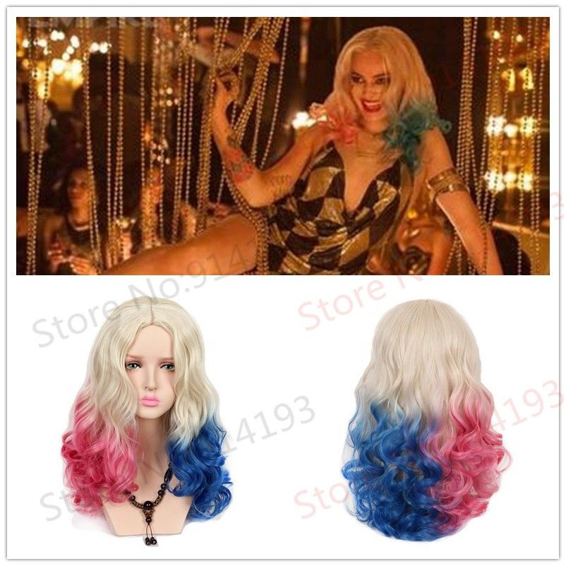 Pelucas Cosplay · Aliexpress.com  Comprar Dos Colores cambio Gradual de  colores de Tinte Para El Cabello 254c7c4f27c3