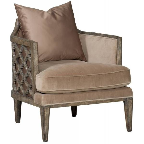 Synergy Pewter & Glame Sheen Jute Accent Arm Chair from Hooker Furniture at Gorman's