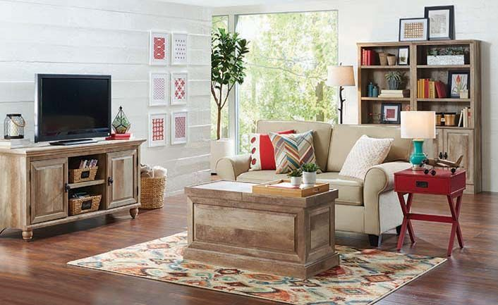 Better Homes And Gardens Crossmill Living Room Set Modern Rustic Decor Living Room Living Room Sets Leather