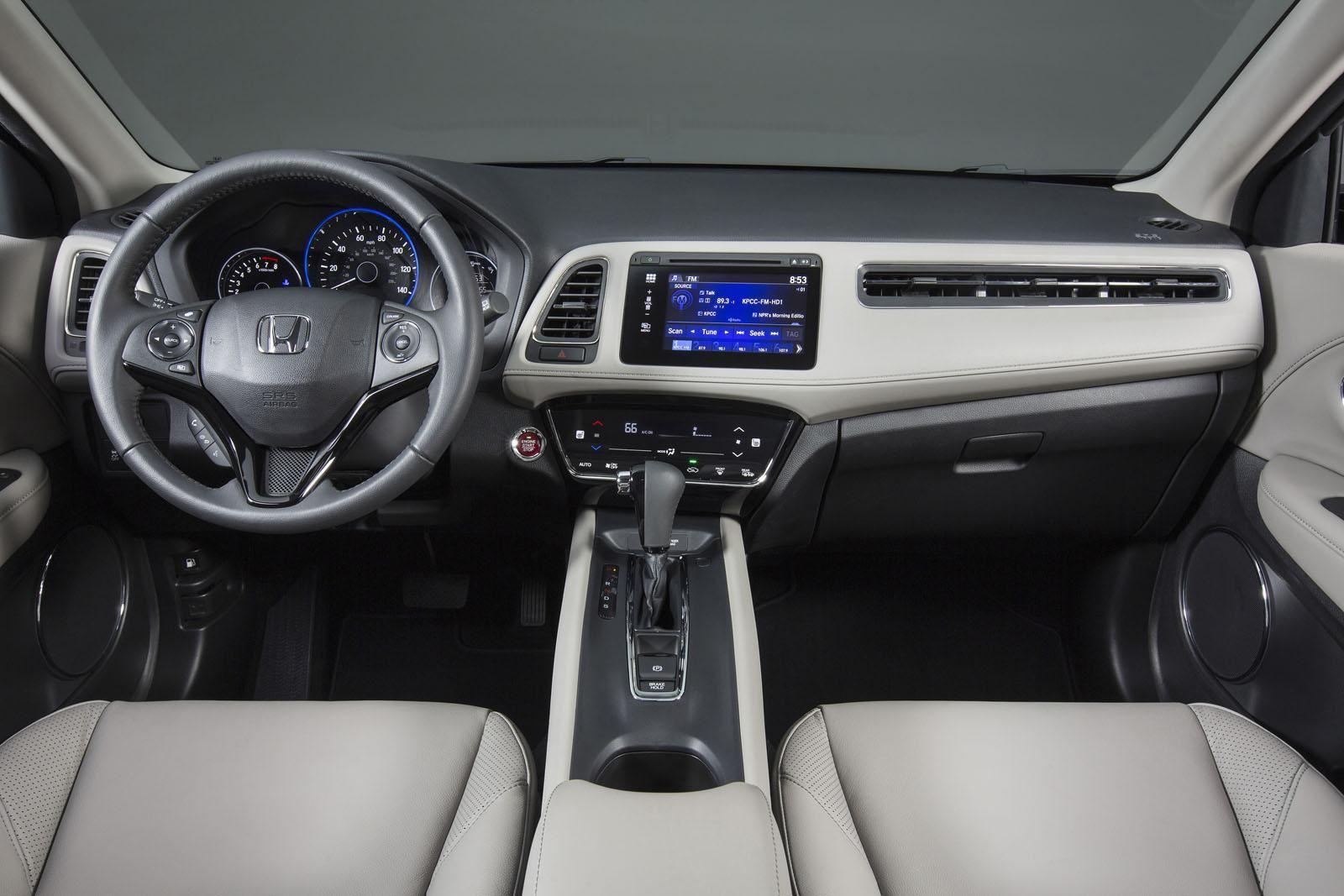 2016 Honda Hrv Interior Interior De Carros De Luxo Carros De Luxo Honda Hr V