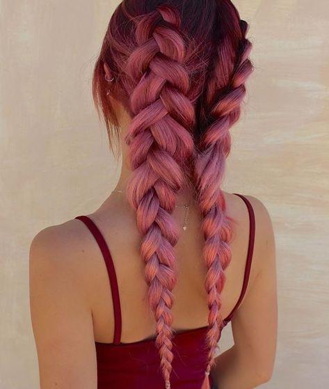 Duchbraid mit rosa Haaren !! ?? Das Erstaunlichste, was ich je gesehen habe ...