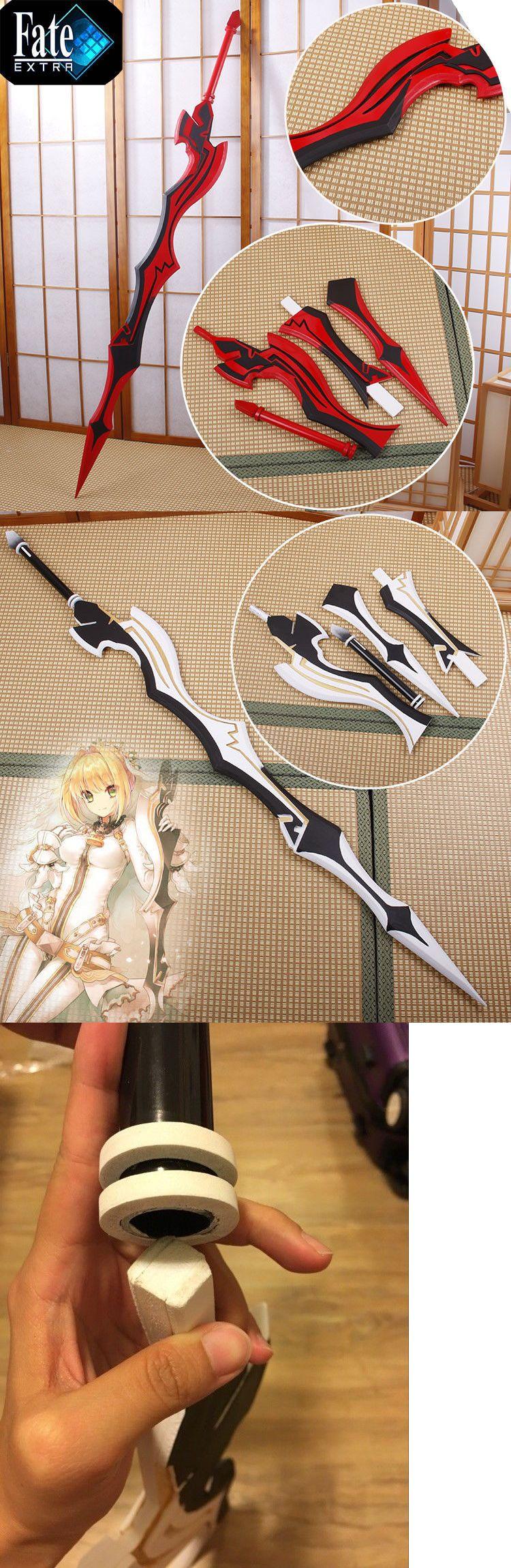 "Fate Zero Extra Saber Nero Aestus Estus White Red Sword Anime Cosplay Prop 63/"""