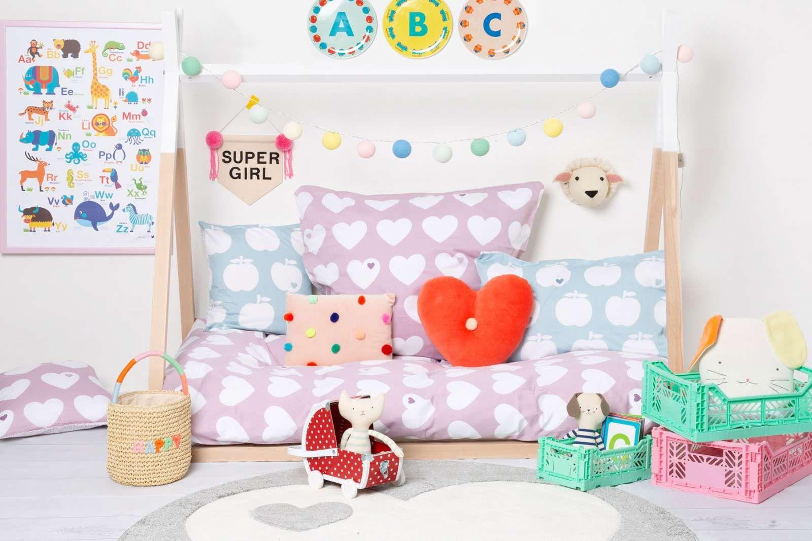 Kinderzimmer für Mädchen einrichten mit vielen