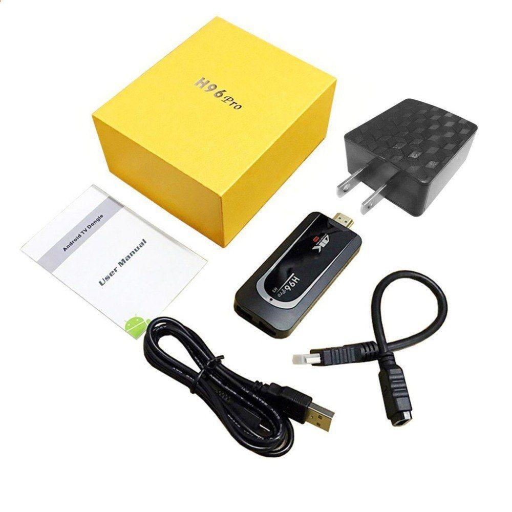 H96 ProH3 Nejnovější 4K malá velikost Smart TV Dongle