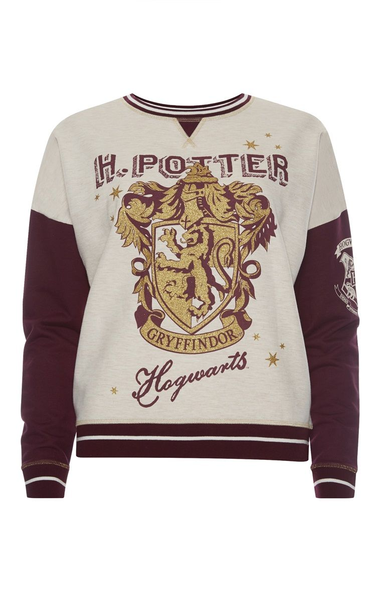 8853d4005ce537 Primark - Harry Potter Hogwarts Sweater (Top View Product ...