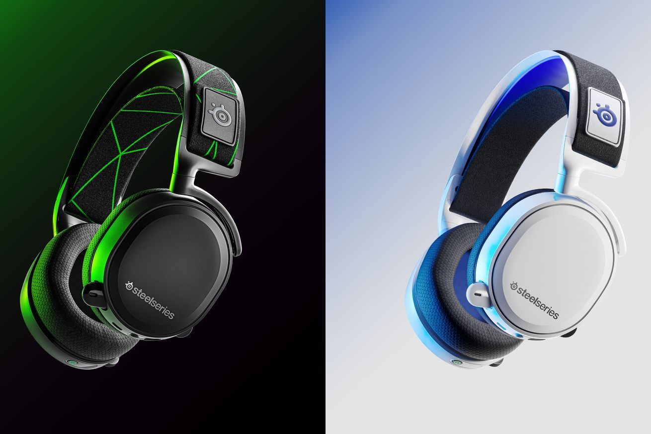 Steelseries New Arctis 7 Series Headsets Use A Usb C Wireless Dongle Gaming Headset Wireless Gaming Headset Steelseries