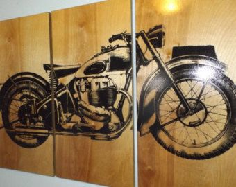 Wall Art Decor Ideas Yellow Contemporary Motorcycle Por Items Painting Painted Decorations Printable
