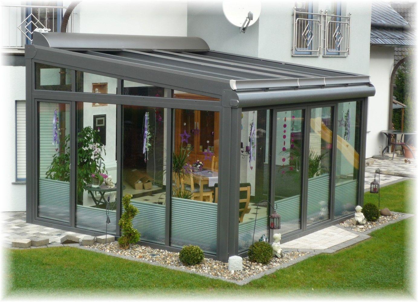Ein kundenbild mit neuen plissees vom raumtextilienshop fertig montiert im wintergarten - Bundesverband wintergarten ev ...