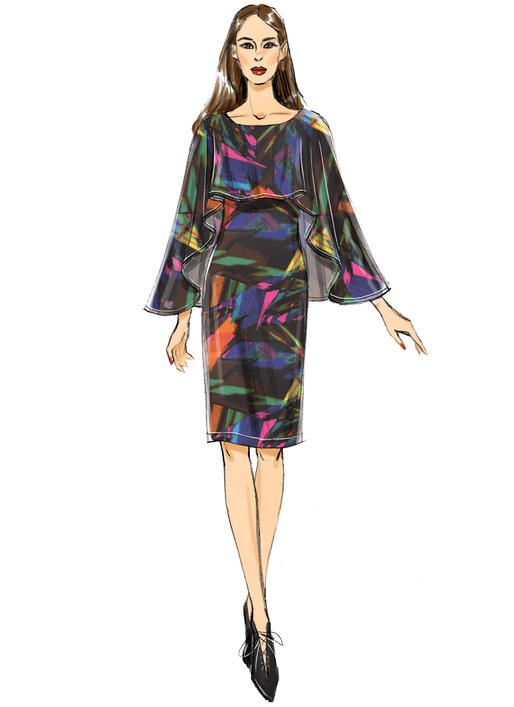 Butterick dress sewing pattern. B6479 Misses\' Pullover Dresses with ...