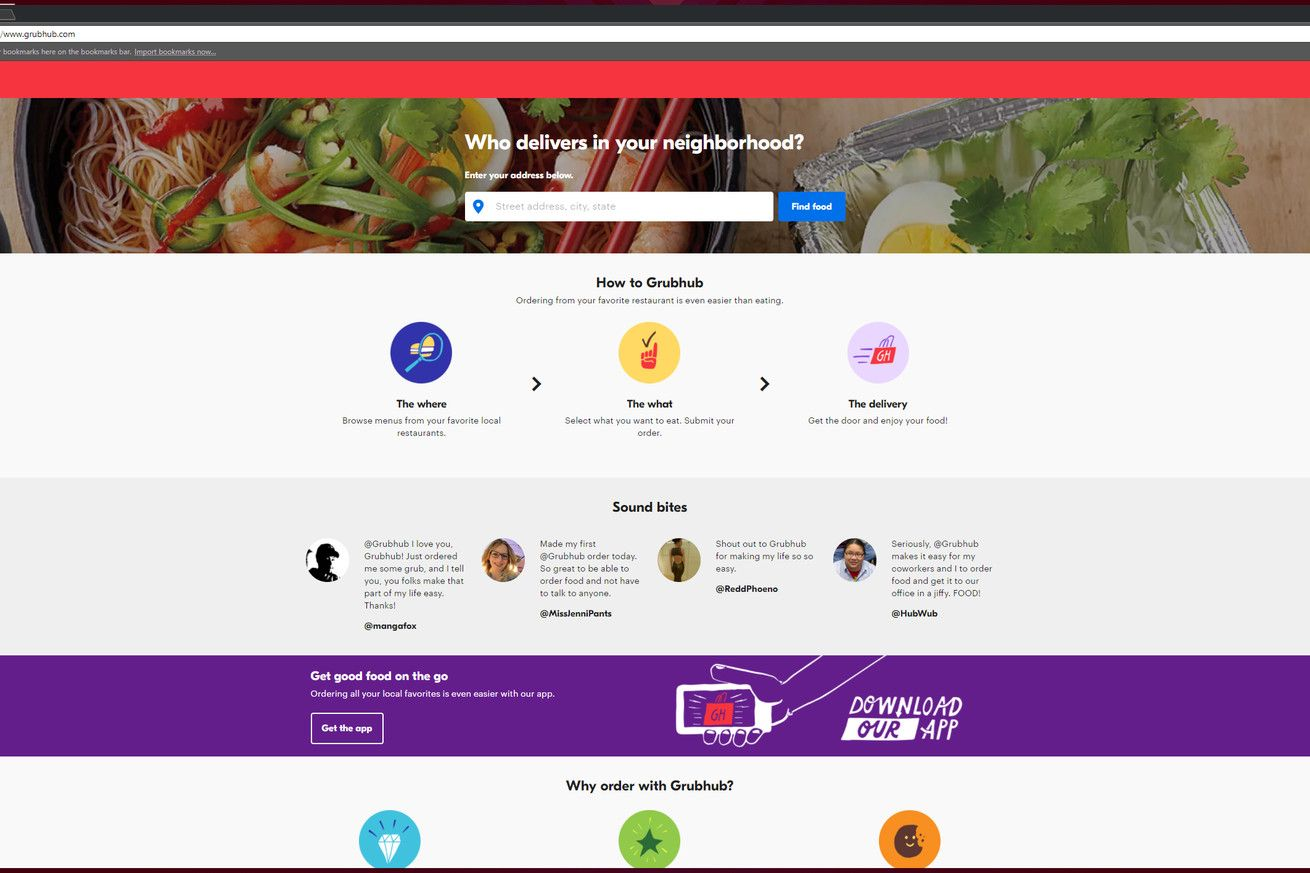 Grubhub now lets you use Venmo to split food orders inside