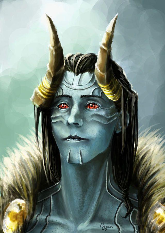 Loki. Frost Giant. | GEEKerydeekeryDORK | Loki jotun, Loki ...