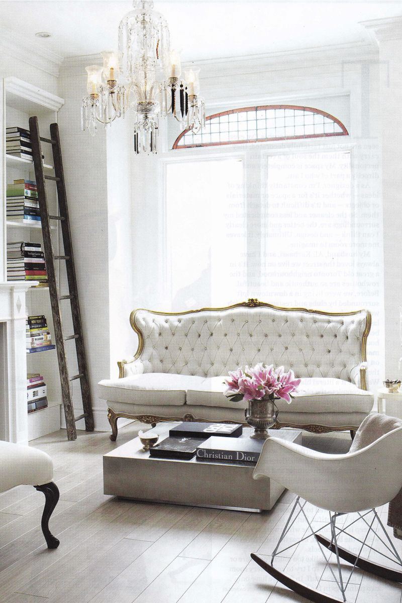 All White Living Room 5 french styling tips every home needs - the chriselle factor