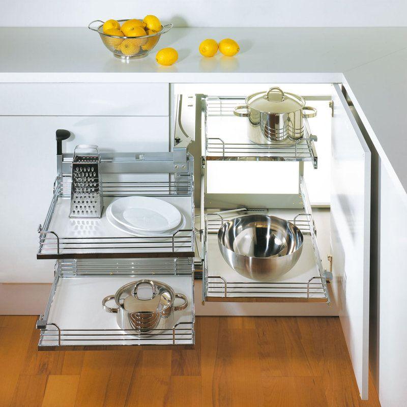Best Hafele 548 10 41 Blind Corner Cabinet Kitchen Corner 400 x 300