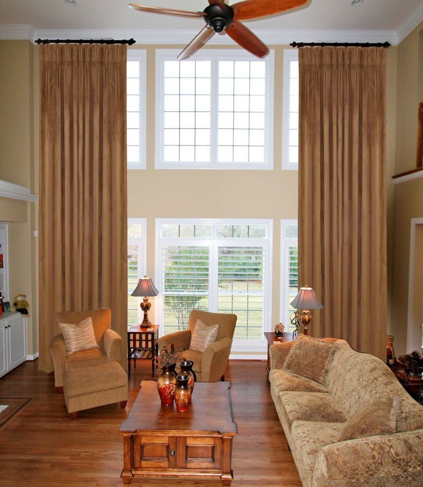 Details About Extra Long Pleated Curtains Velvet Stage