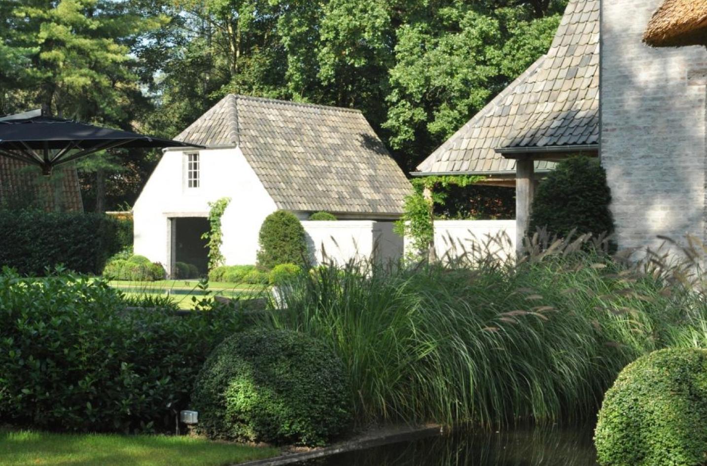 Tuin en bijgebouw mooie gevels beautiful facades for Bijgebouw tuin
