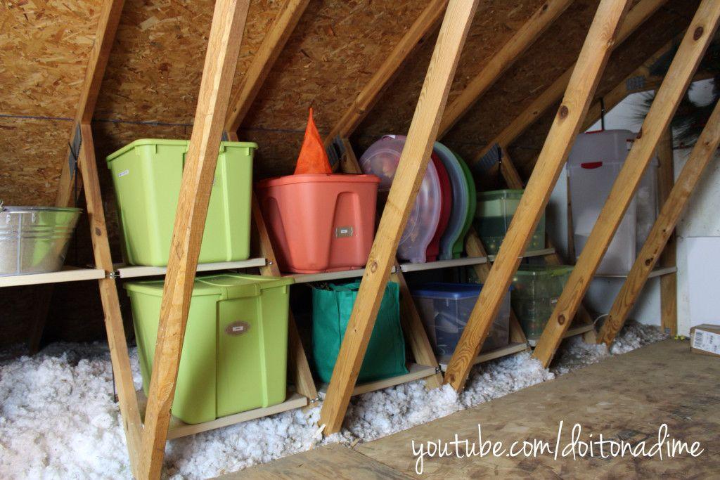 How To Organize Your Attic Atticmaxx Giveaway Attic Renovation Attic Flooring Attic Storage
