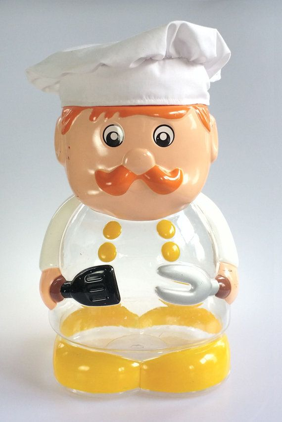 Fat chubby chef cookie jar