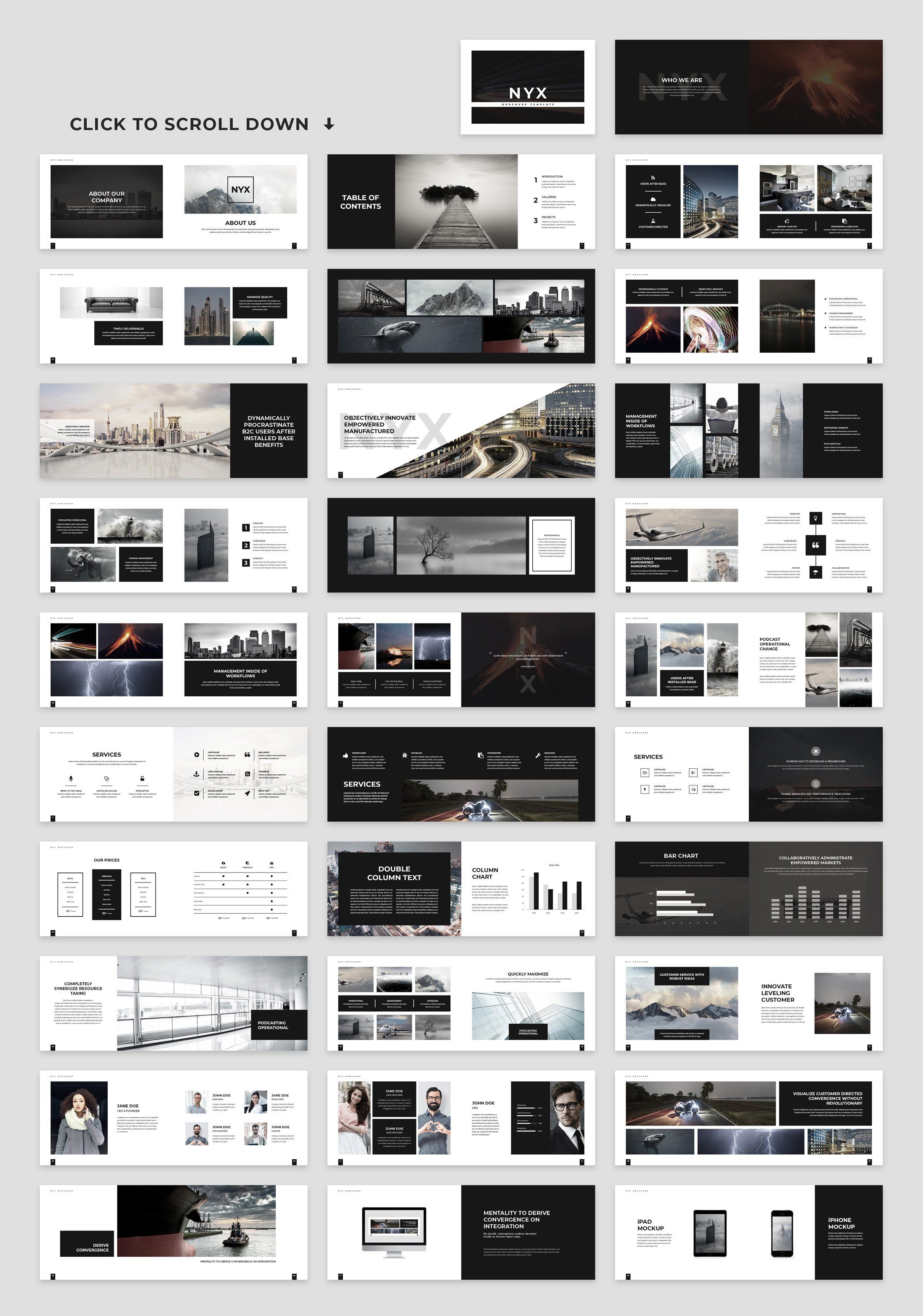 Nyx Brochure Template