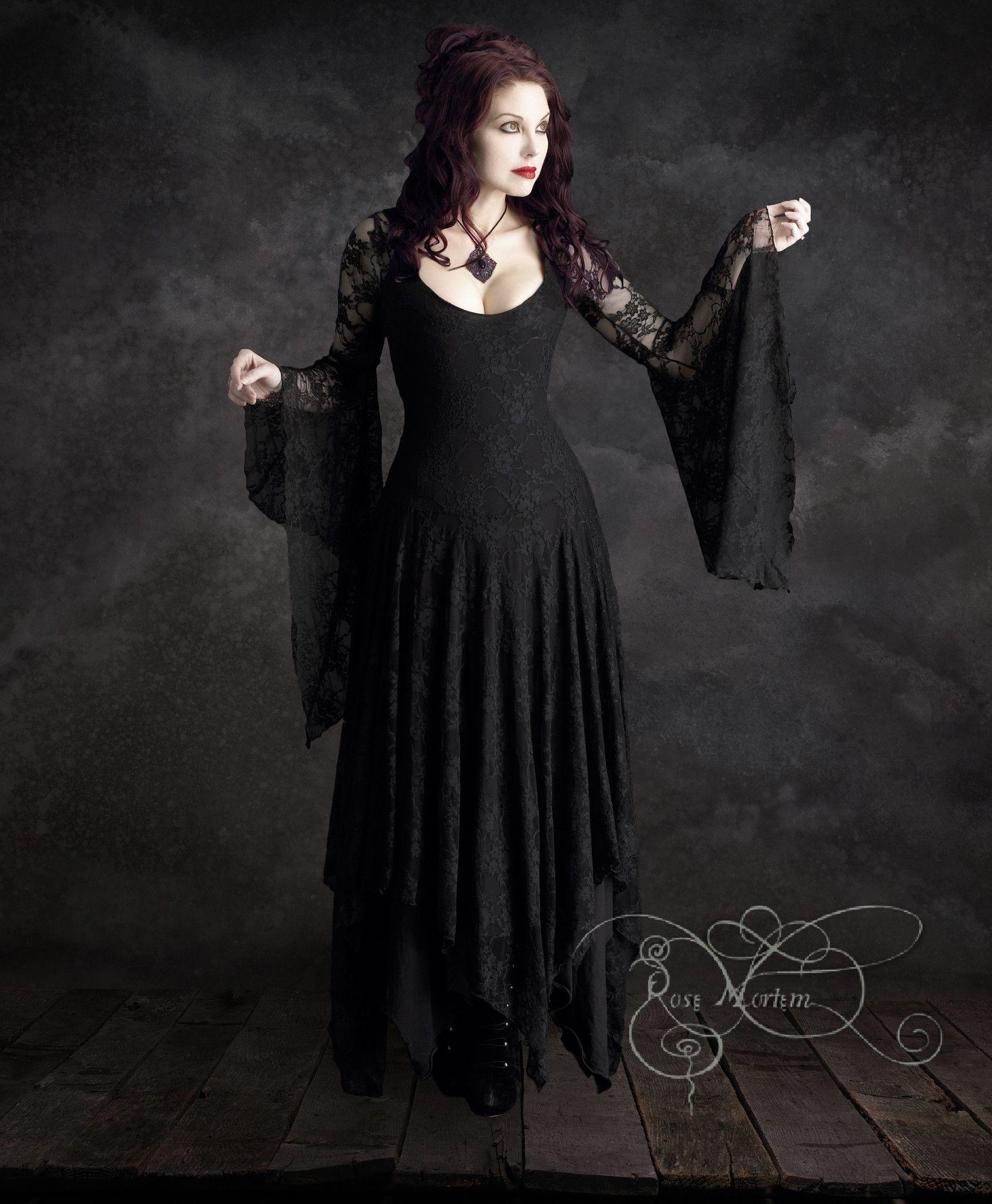 Long sleeve black wedding dresses  Annaleah Fairy Tale Romantic Lace Wedding Dress  LoZ  Pinterest