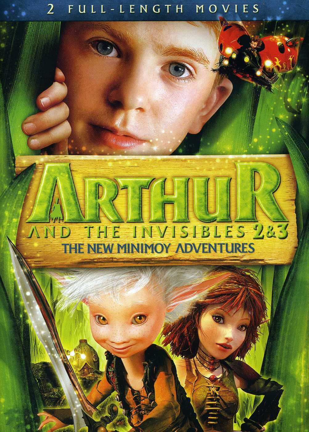 Arthur And The Invisibles 2 3 The New Minimoy Adventures