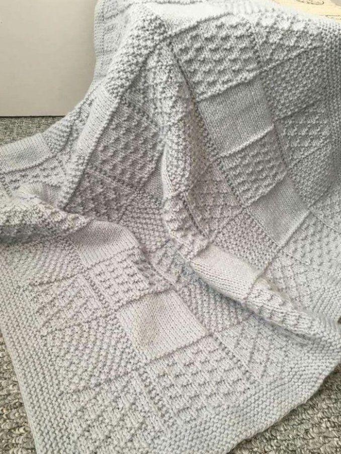 knit projects strickenbabydecke crochetbabyblanket