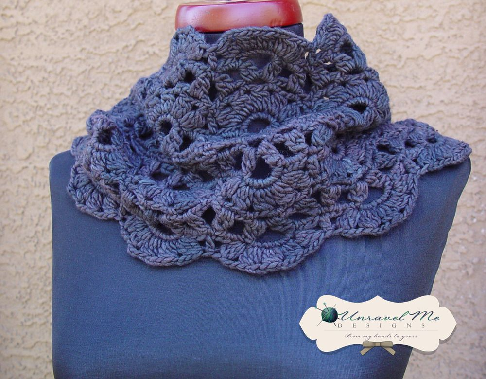 #Avery Infinity Scarf/Cowl #crochet pattern Scarves #2dayslook #Scarves #kelly751#sasssjane #sunayildirim www.2dayslook.com