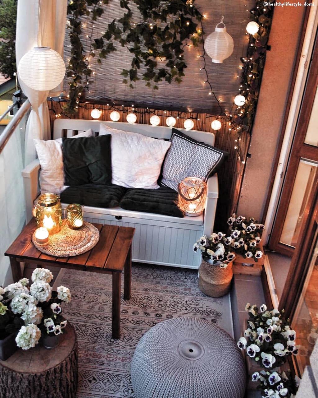 Ma con questi piccoli consigli potrai godere al meglio i tuoi spazi esterni piccoli o grandi che siano. Pin Su Balkone